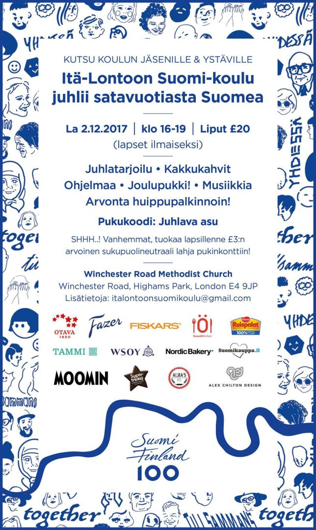 Suomi 100-juhlat 2.12.2017